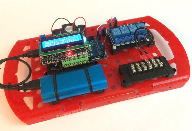 Sample project: Arduino-powered industrial controller